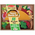 Melissa & Doug Felt Food Taco & Burrito Set