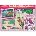 Melissa & Doug Peel & Press Sticker by Number - Fairytale Princess