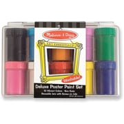 Melissa & Doug Deluxe Poster Paint Set (10 colors)