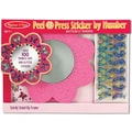 Melissa & Doug Peel & Press Sticker by Number - Butterfly Mirror