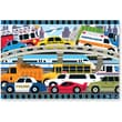 Melissa & Doug Traffic Jam Floor Puzzle 2'x3' (24 pc)