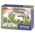 Melissa & Doug Unicorn Glade Floor Puzzle (48 pc)