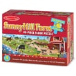 Melissa & Doug Search & Find Sunny Hill Farm Floor Puzzle (48 pc)