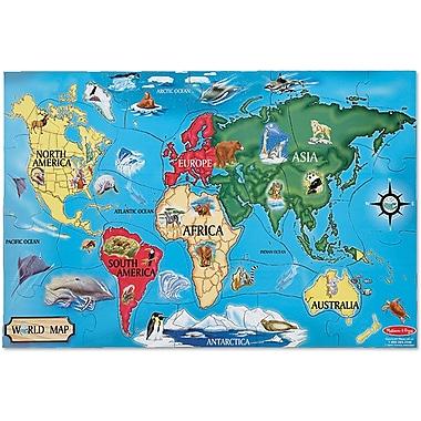 Melissa & Doug World Map Floor (33 pc)