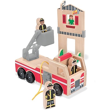 Melissa & Doug Whittle World - Fire Rescue Play Set