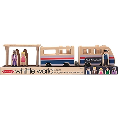 Melissa & Doug Whittle World - Train Platform Play Set