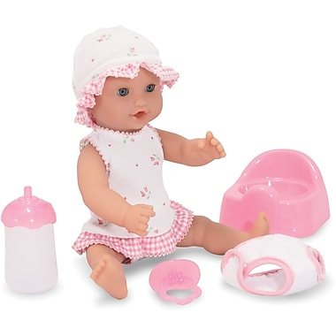 Melissa & Doug Annie - 12in. Drink & Wet Doll
