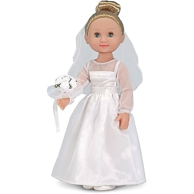Melissa & Doug Lindsay - 14in. Bride Doll