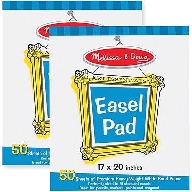Melissa & Doug Deluxe Easel Pad Bundle 2-Pack