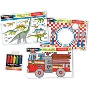 Melissa & Doug Fun Themes Placemat Bundle