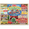 Melissa & Doug Town Blocks Play Set
