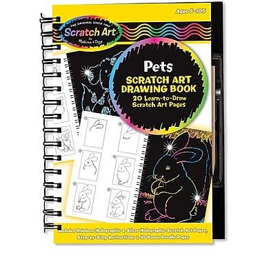 Melissa & Doug Drawing Book - Pets