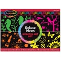 Melissa & Doug Deluxe Neon Scratch Art Set