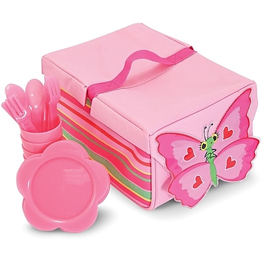 Melissa & Doug Bella Butterfly Picnic Set