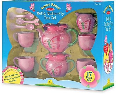 Melissa & Doug Bella Butterfly Tea Set 178268