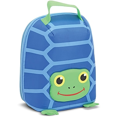 Melissa & Doug Scootin' Turtle Lunch Bag
