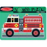 Melissa & Doug 731 Fire Truck Sound Puzzle