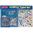 Melissa & Doug Peel & Press in.Stained Glassin. Undersea Fantasy