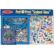 Melissa & Doug Peel & Press Stained Glass Undersea Fantasy