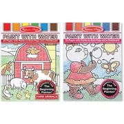 Melissa & Doug Paint with Water Bundle - Girl