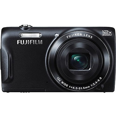 Fuji T550 Digital Camera, Black