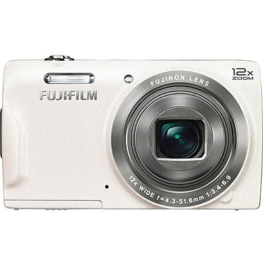 Fuji T550 Digital Camera, White