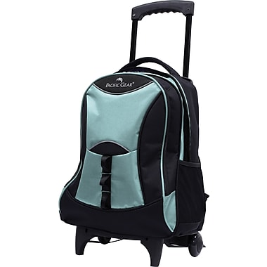 Traveler's Choice® Pacific Gear® PG0099 19in. Lightweight Wheeled Backpack, Glacier