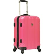 "Traveler's Choice® TC3800 Cambridge 20"" Hardsided Carry-On Spinner Luggage Suitcase, Pink"