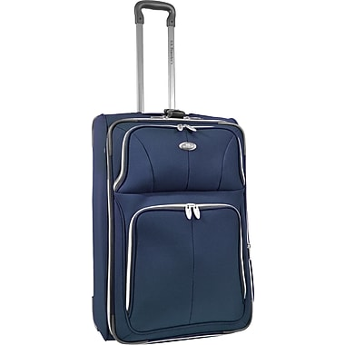 U.S.® Traveler US7200 Segovia 26in. Expandable Luggage Suitcase, Navy