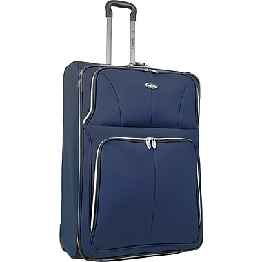 U.S.® Traveler US7200 Segovia 29in. Expandable Luggage Suitcase, Navy
