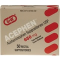 Acetaminophen Suppositories, 12/Box