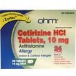 Medline OTC6817N Cetirizine Allergy Tablets 90 Tablets/Bottle