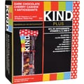 KIND Dark Chocolate Cherry Cashew PLUS Antioxidants Bars, 1.41 oz. Bars, 12 Bars/Box