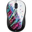 Logitech M325 Wireless Advanced Optical Mouse, Celebration Black