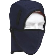 Doublure d'hiver pour casque de sécurité, design couvre-nuque, bleu marine
