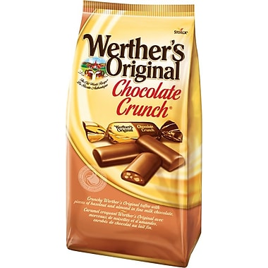 Werther's Original Chocolate Candy. 125g Bag
