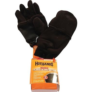 Heated Mitten, Black, M/L