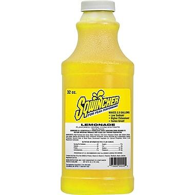 Sqwincher Concentrate, 32oz., Lemonade Flavour, 12/Case