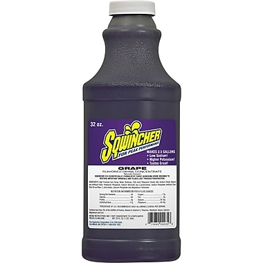 Sqwincher Concentrate, 32oz., Grape Flavour, 12/Case