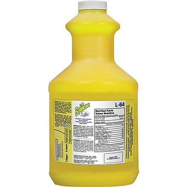 Sqwincher Lite Concentrate, 64 oz, Lemonade Flavour, 6/Case