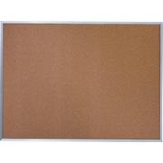 Quartet® Basic Cork Bulletin Board, Silver Aluminum Frame, 6'W x 4'H