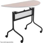 "Safco 28""H x 37 1/2""W x 24""D Mobile Base for 48"" Impromptu Training Tabletops, Black (2030BL)"
