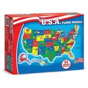 Melissa & Doug U.S.A. Map Floor (51 pc)