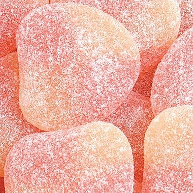 Haribo Gummi Peaches, 5 lb. Bulk