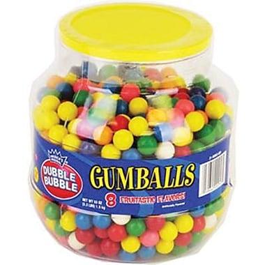 Dubble Bubble Gumballs, 3.3 lb. Jar