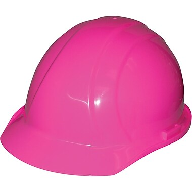 Liberty® Hard Hats, CSA Type 1, Mega Ratchet, Class E Certified, ANSI Type I, Hi-Viz Pink