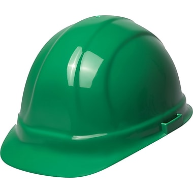 Omega II® Hard Hat, CSA Type 1, Mega Ratchet, Class E Certified, ANSI Type I, Green
