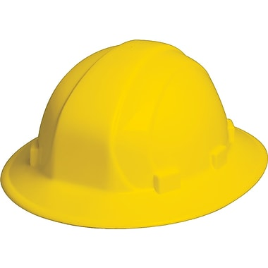 Omega II® Hard Hat, Full Brim, CSA Type 1, Slide-Lock, Class E Certified, ANSI Type I, Yellow