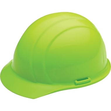 Liberty® Hard Hats, CSA Type 1, Slide-Lock, Class E Certified, ANSI Type I, Hi-Viz Lime Green