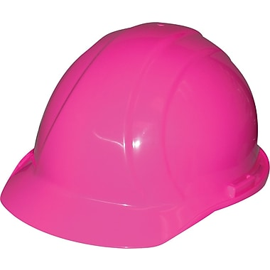 Liberty® Hard Hats, CSA Type 1, Slide-Lock, Class E Certified, ANSI Type I, Hi-Viz Pink